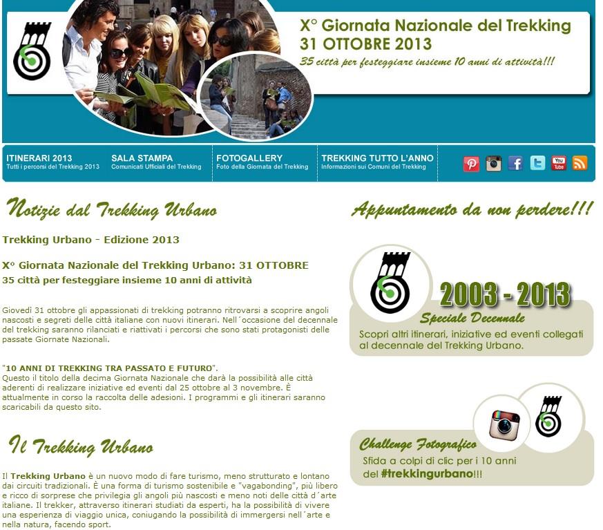 Decima giornata nazionale del trekking