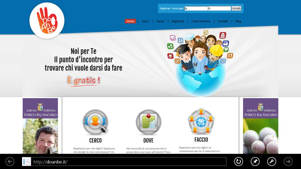 Homepage di DoAnBe