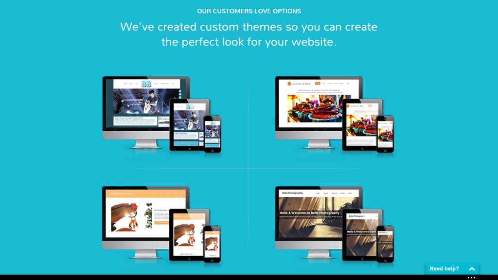 Template personalizzati con Sitefly