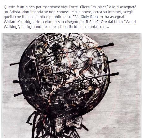 Facebook e l'arte