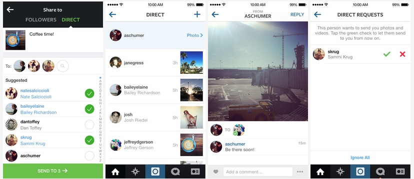 Photo of Instagram Direct: più spazio alle video interazioni