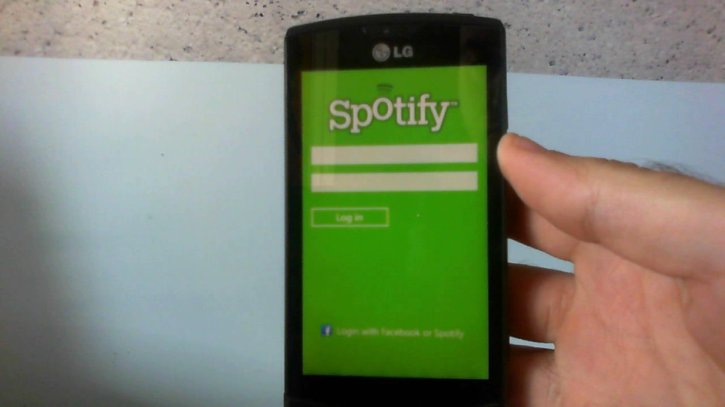 Spotify su Windows Phone