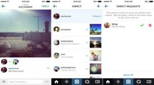 Instagram direct IOS
