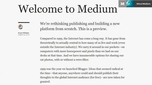 Photo of Medium.com: il blog rivisto da Twitter