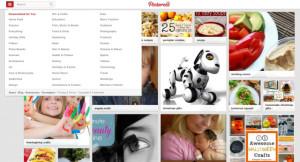 Pinterest personalizzato