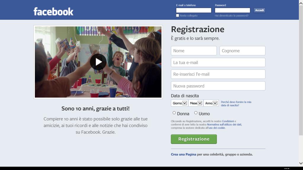 Lookback di Facebook