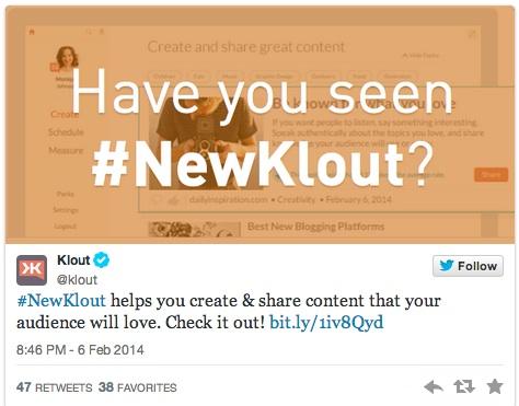 Photo of Klout diventa piattaforma per creare contenuti