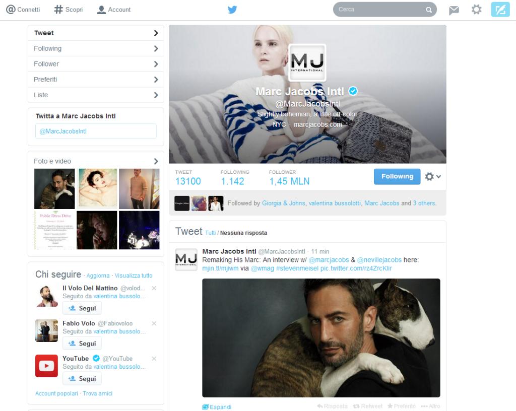 Marc Jacobs Intl Twitter