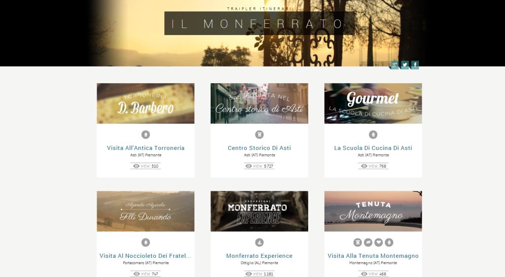 Itinerario Monferrato Traipler.com