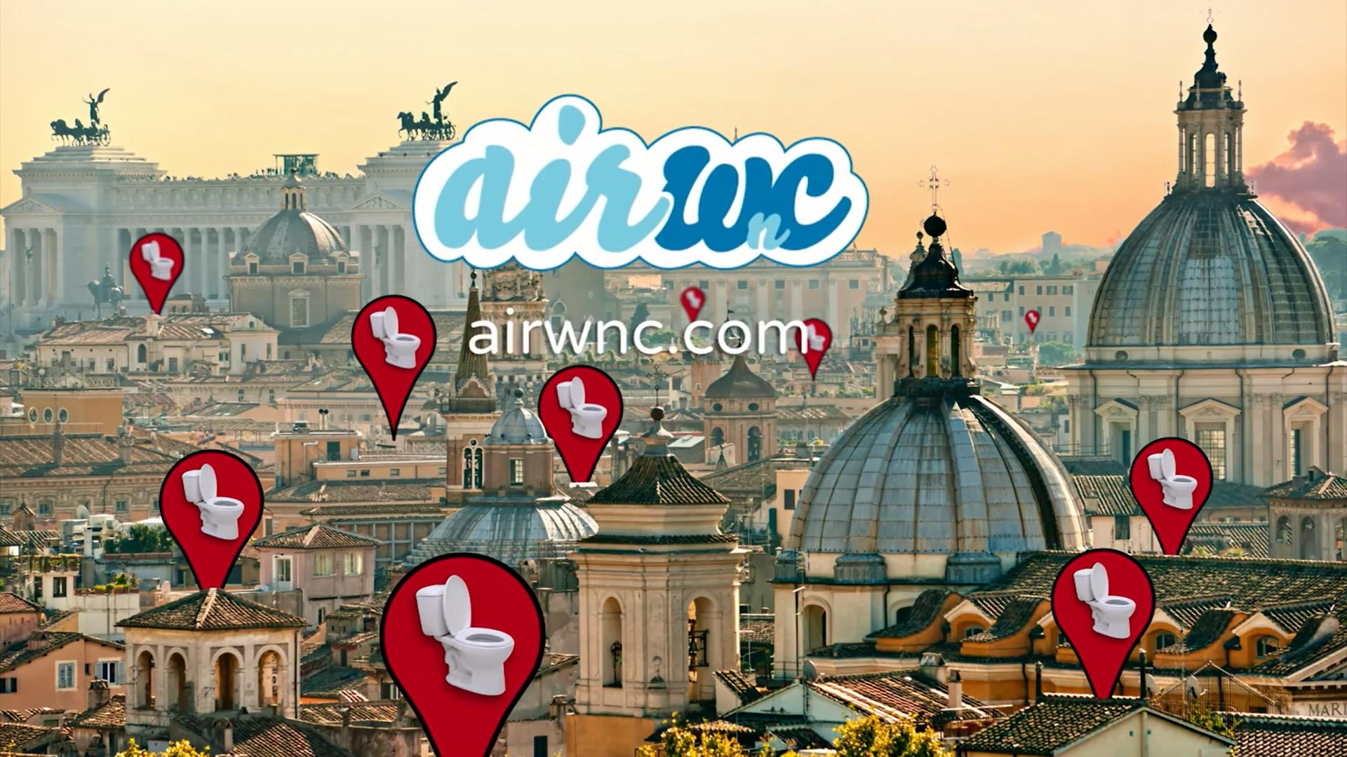 Photo of AirWnC: trova il bagno più vicino a te