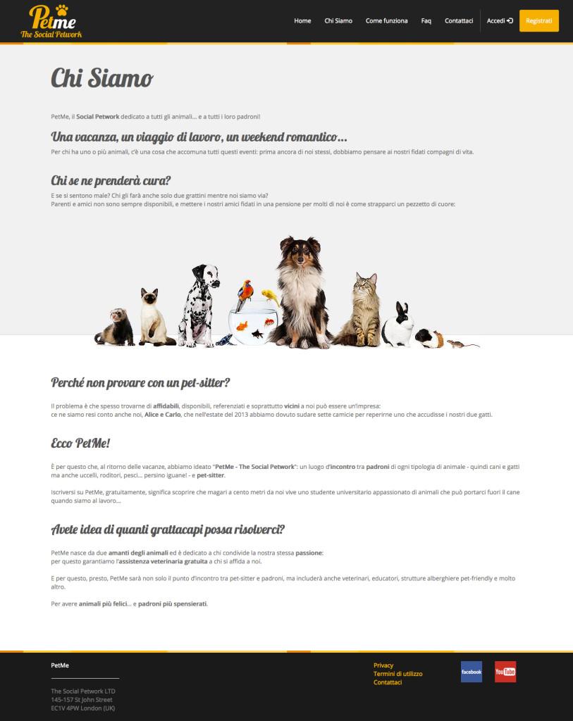 PetMe - Presentazione Progetto