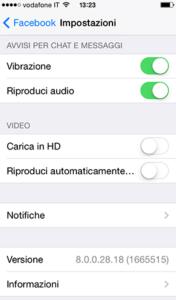 Riproduci Video Facebook su rete WiFi