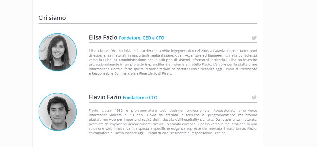 Flavio ed Elisa Fazio
