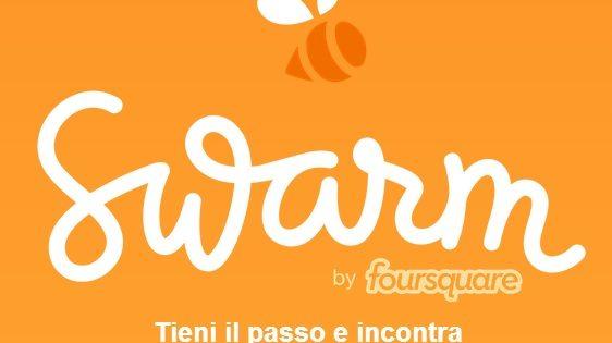 La scissione di Foursquare: arriva l'app Swarm