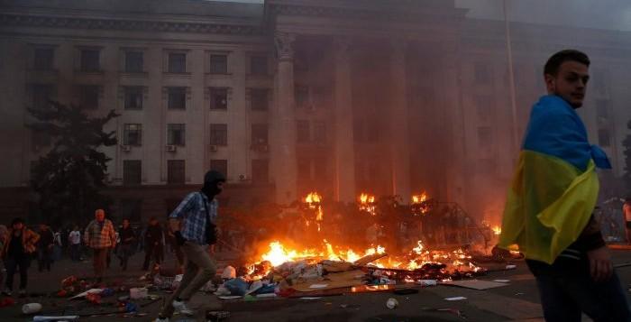 Scontri Ucraina 2 maggio 2014