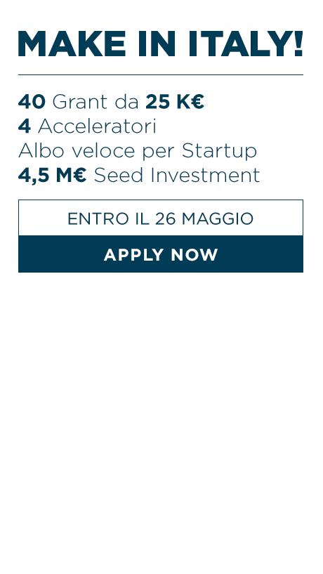 Working Capital Accelerator - Scadenza 29 maggio 2014