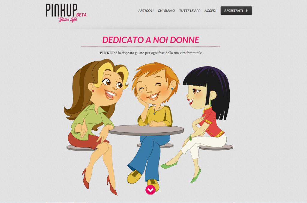 PinkUp Home Page
