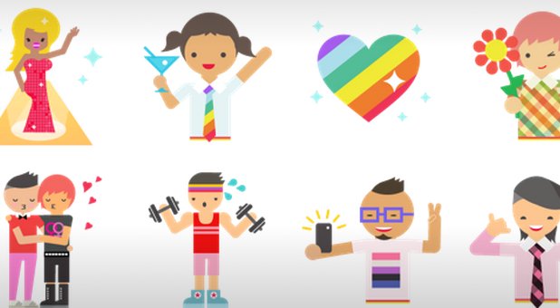 Facebook LGBT stickers
