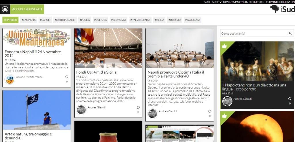i-Sud Home page