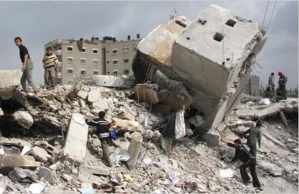 Foto Palestina in guerra
