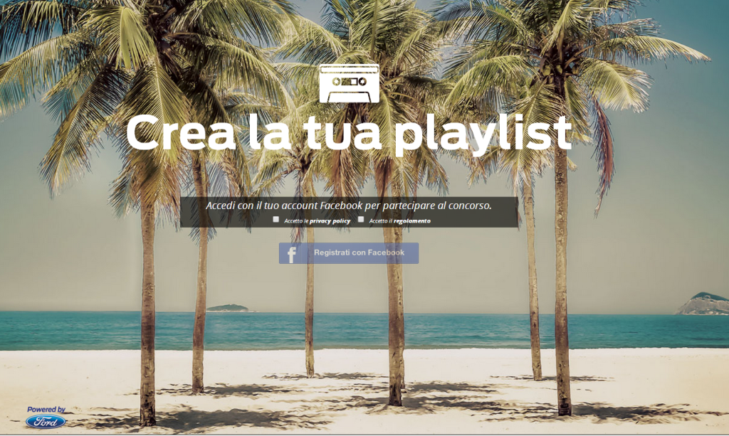Crea la tua Playlist  - Contest Ford