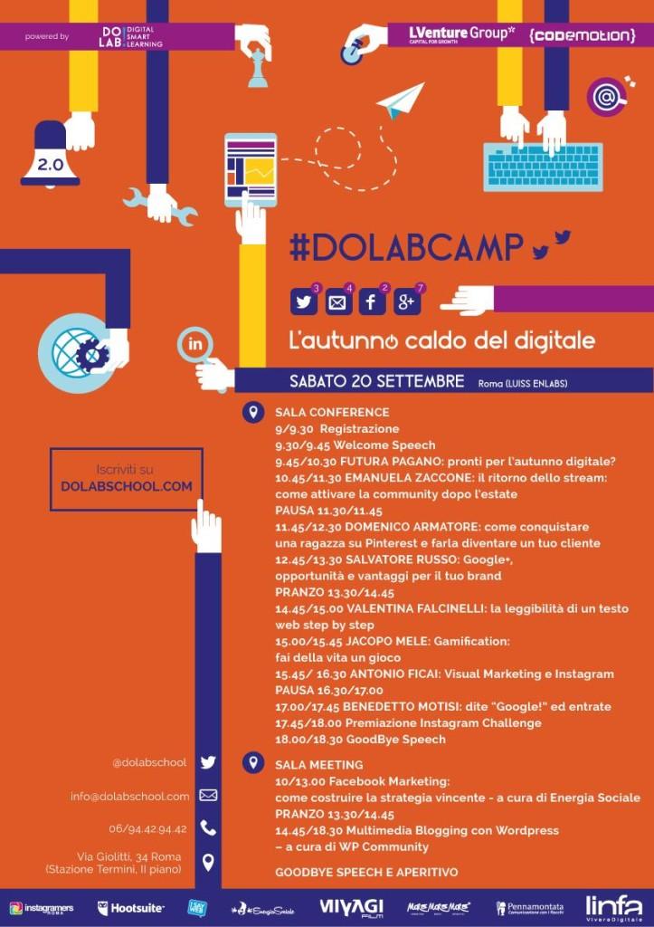 Locandina #DolabCamp