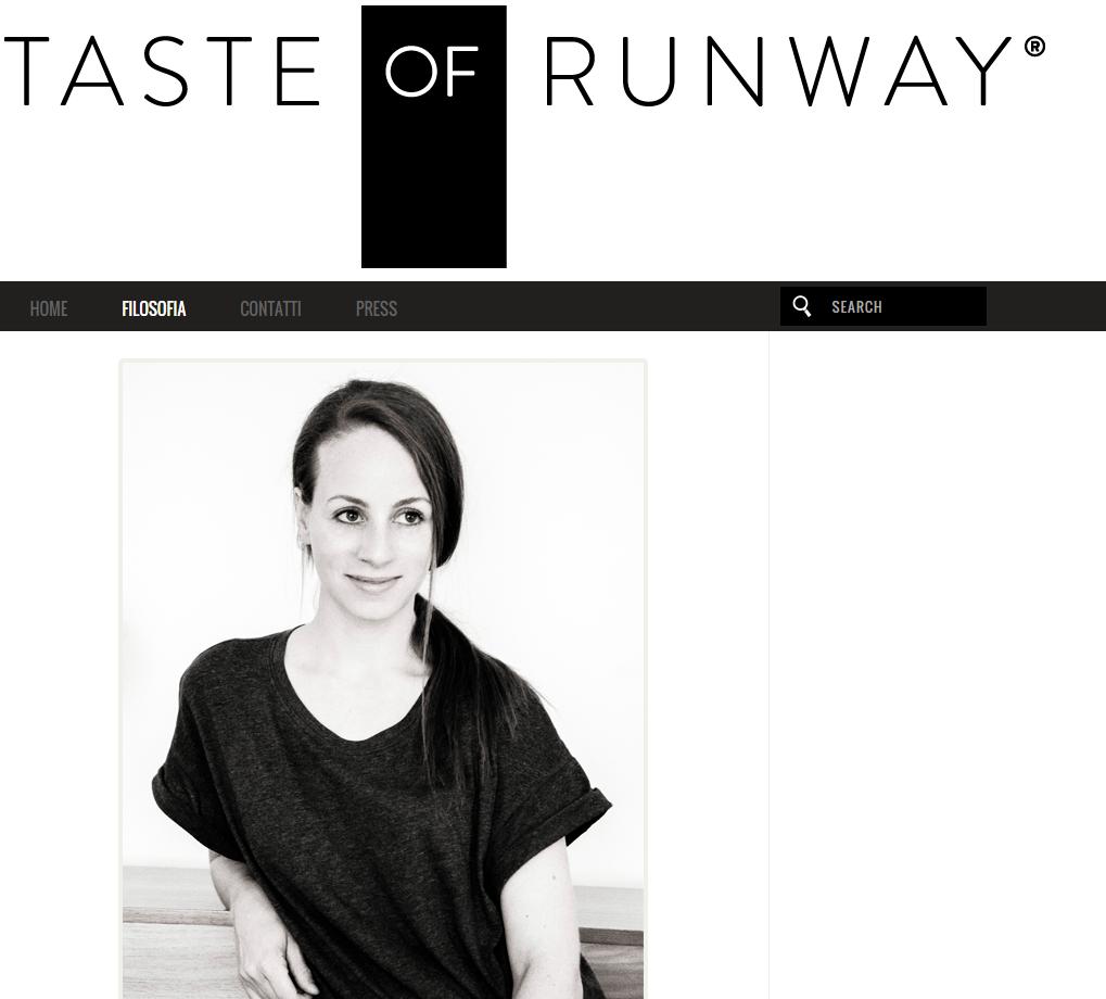 Anna Marconi  - Taste of Runway