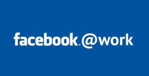 Logo di Facebook at work