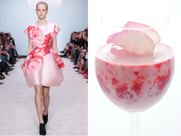 Taste of Runway  - Rose mousse