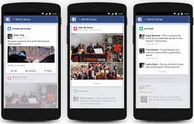Facebook Trending topics su Android