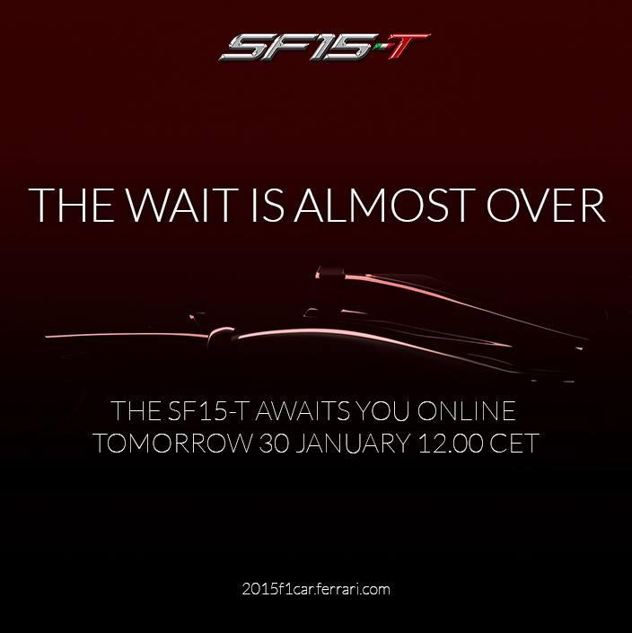 Nuova Ferrari SF15-T presentata sui Social Network