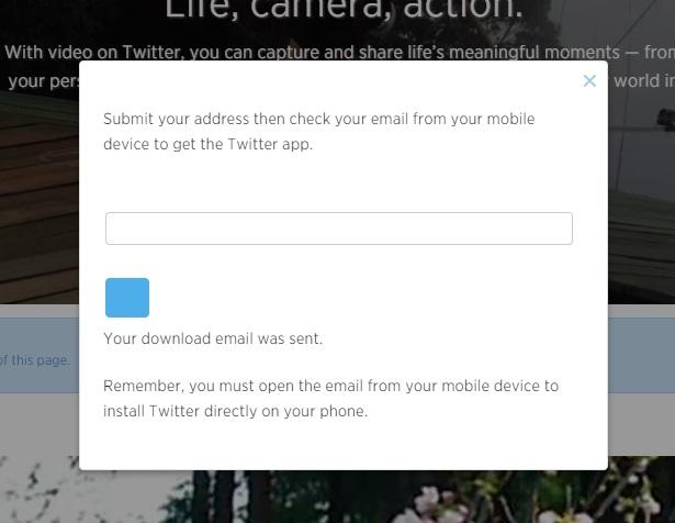 Scarica Twitter Camera App