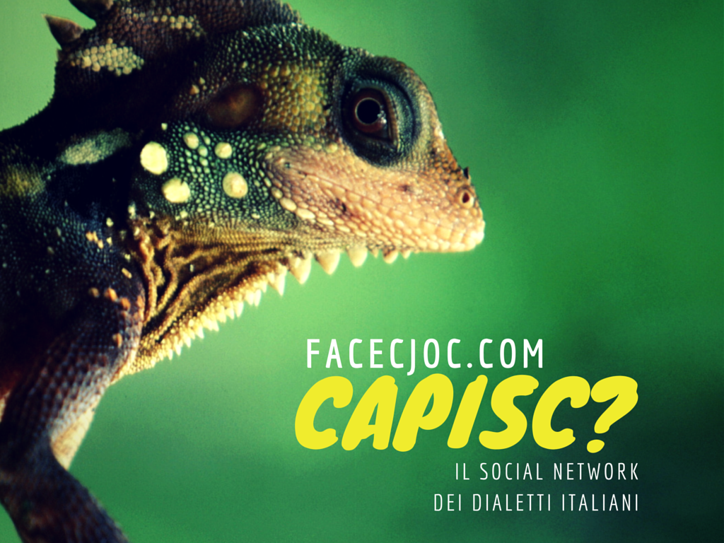 Photo of Facecjoc, il social network dei dialetti italiani