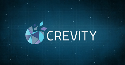 Il logo del network Crevity