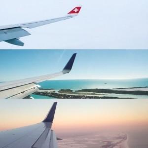 Esempio di collage immagini su Instagram layout