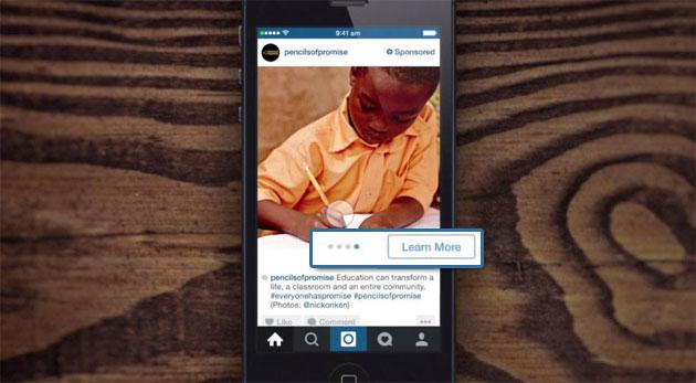 Instagram ads carousel