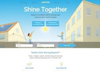 Yeloha Solar Sharing Network
