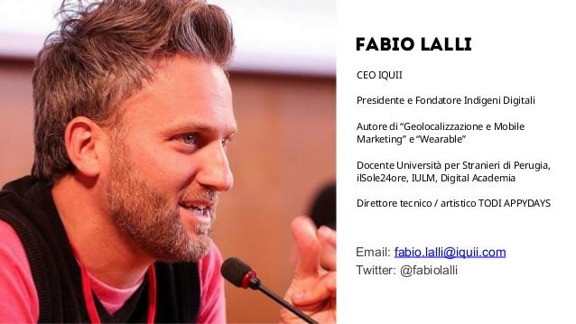 Fabio Lalli al Wud 2015