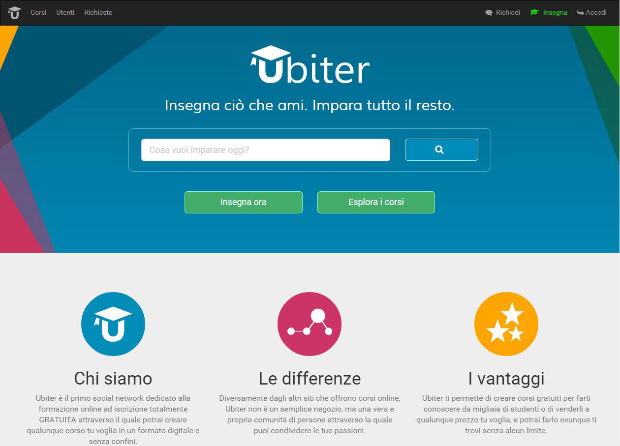 Photo of Ubiter, il social network di e-learning made in Italy