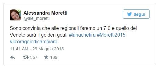 Alessandra Moretti - Epic Fail Twitter