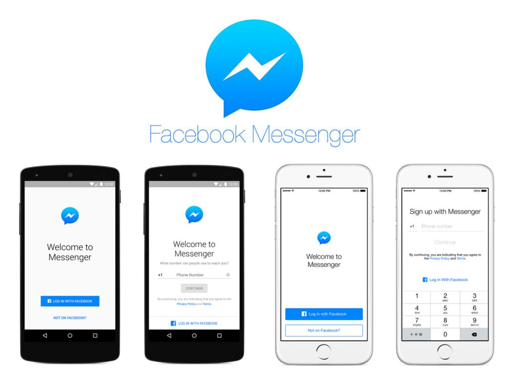 Facebook Messenger per tutti