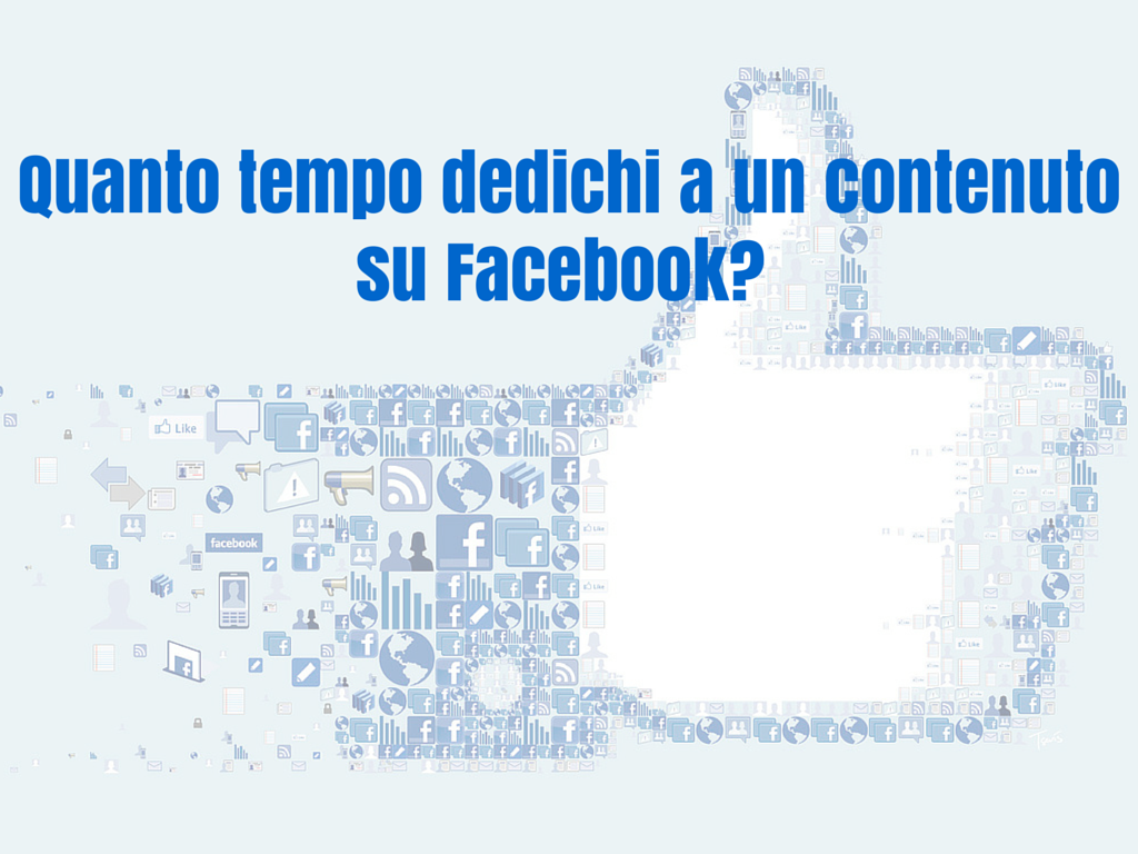 Photo of Quanto tempo dedichi a un contenuto su Facebook?