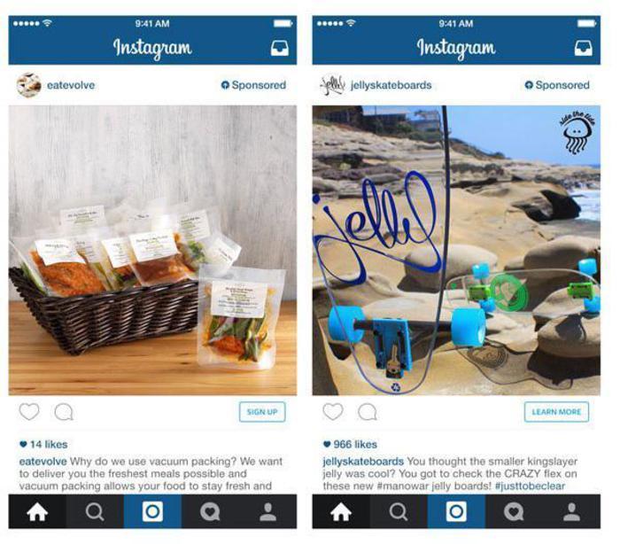 Instagram tasto compra