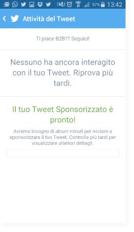Controlla il tweet in tempo reale - Guida Twitter Quick Promote