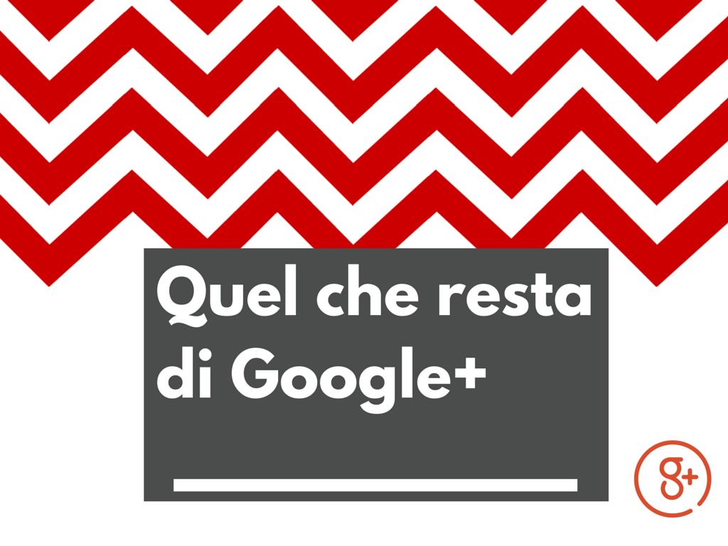 Google+ novità