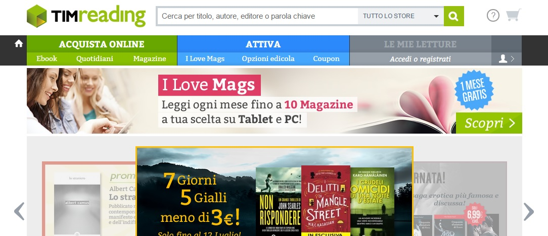 Photo of TIMReading, Cultura a portata di mano!