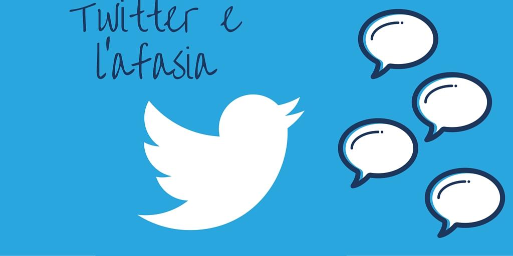 Twitter utile contro l'afasia