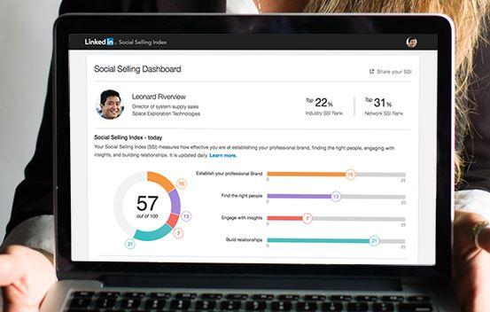 social selling index linkedin