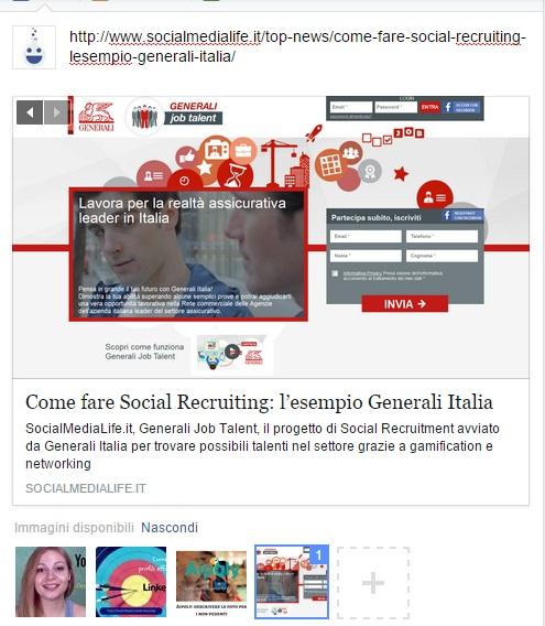 Facebook Imposta Immagine Anteprima