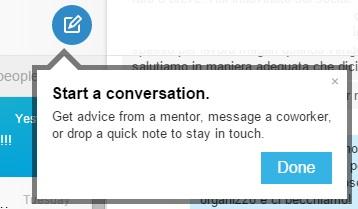 Inizia Conversazione - Nuovi Messaggi LinkedIn